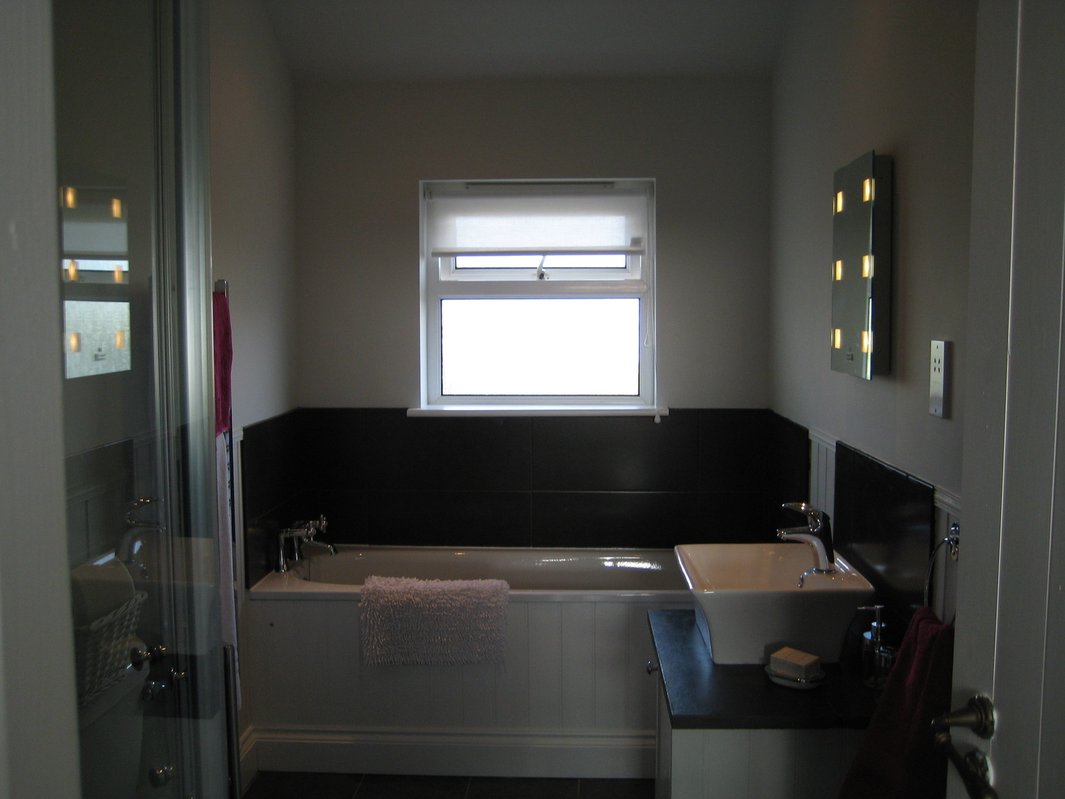 New Bathroom Of Garage Conversion